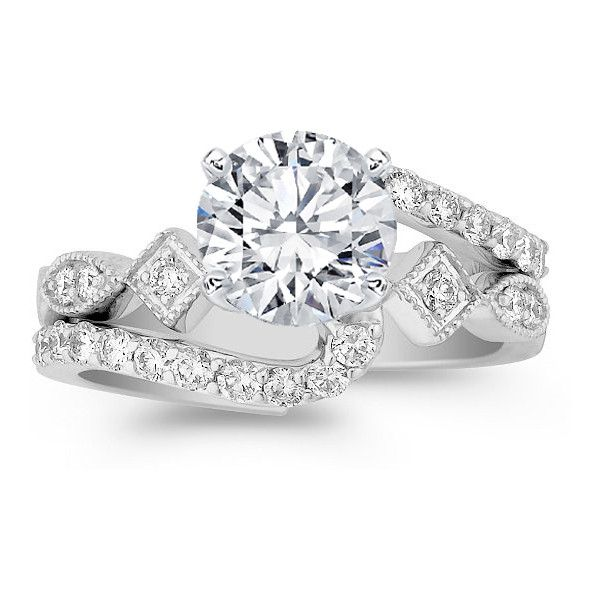 1000 ideas about interlocking wedding rings on pinterest for Interlocking wedding bands