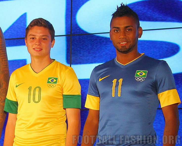 Brazil Nike London 2012 Olympics Kits