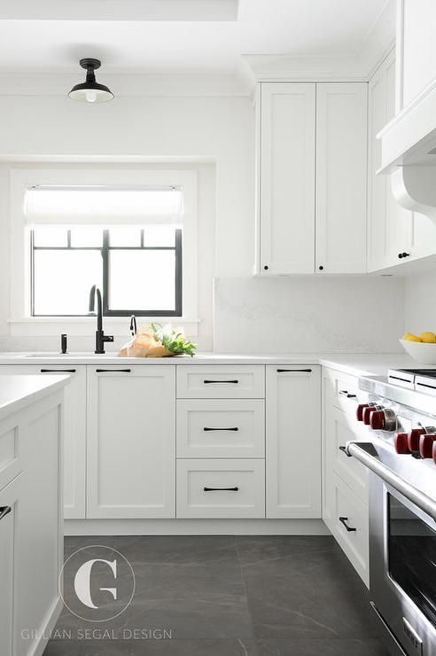 White Kitchen Black Floor best 25+ gray and white kitchen ideas on pinterest | kitchen