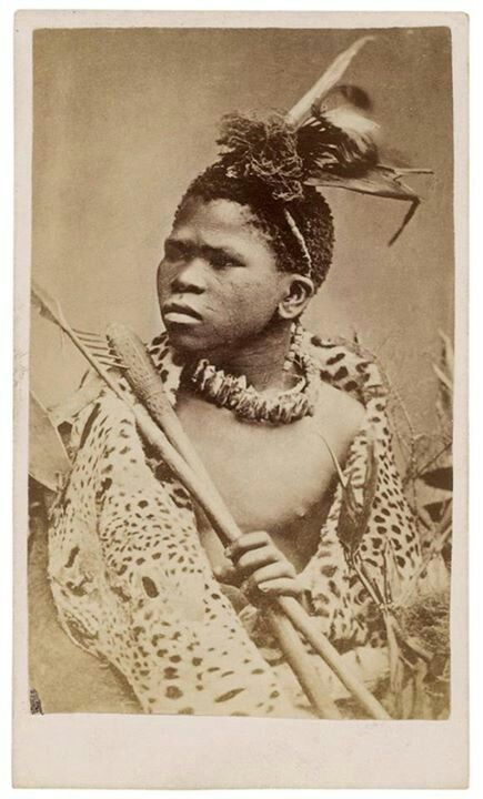 Zulu warrior 1870s