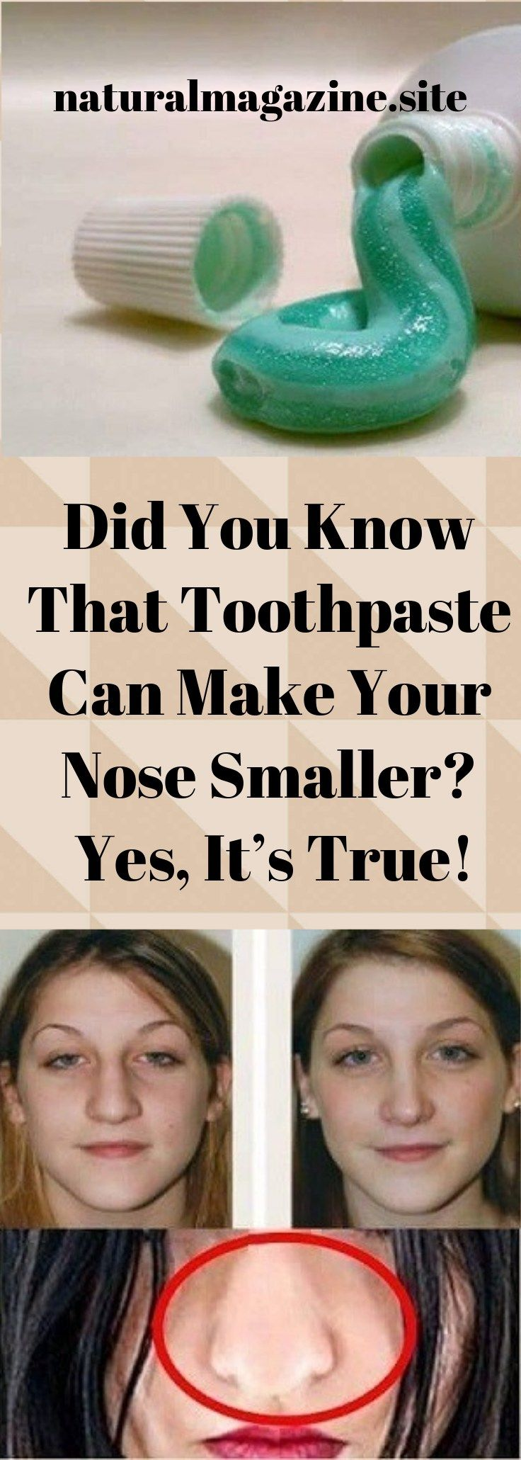 Did You Know That Toothpaste Can Make Your Nose Smaller
