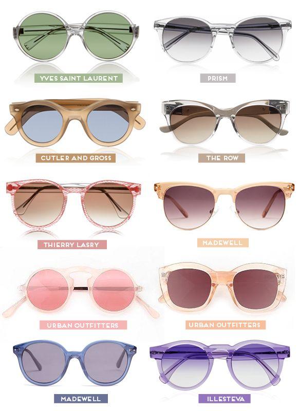 Óculos com transparência na armação    Achados da Bia - http://www.achadosdabia.com.br/2012/08/30/viva-a-transparencia/