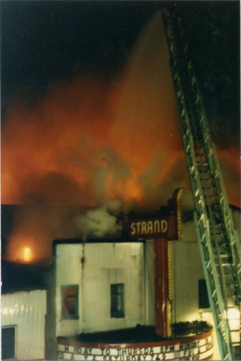 Strand Fire 1985