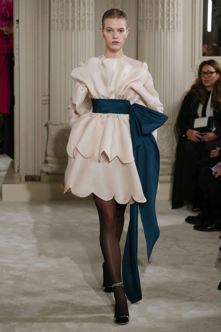 Valentino, spring 2018 Couture...❄