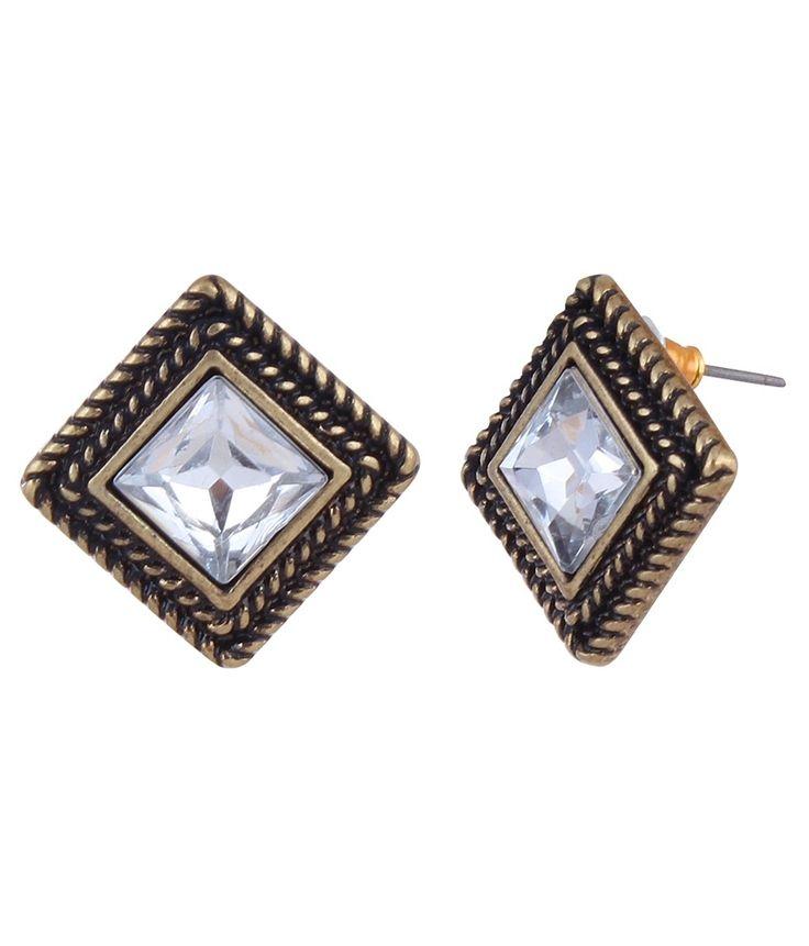 Square Stud Earrings For Women