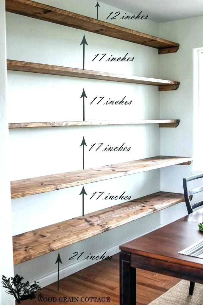 Wall To Bookshelves Ikea Floating