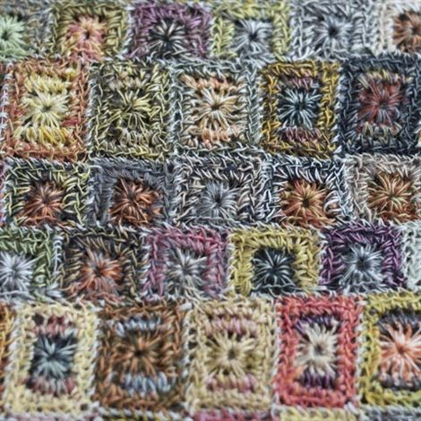 Close up Sophie Digard Crochet scarf