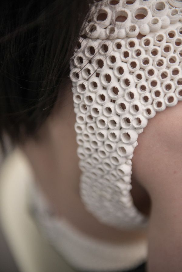details of the 3D printed top by XYZ workshop  People make awesome things