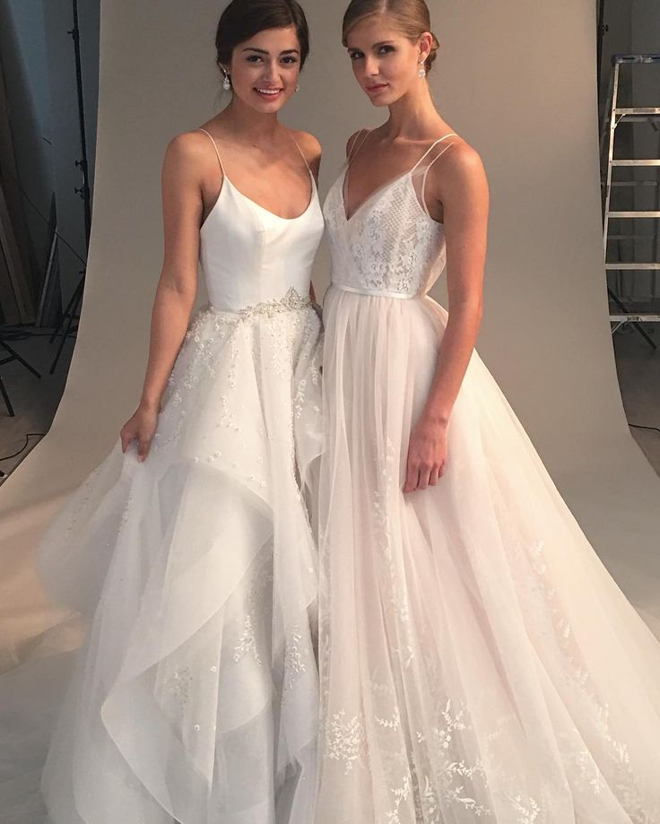 New York Bridal Fashion Week Show fall 2016 new collection wedding dress designer bridal gown catwalk runway hayley paige ball gown