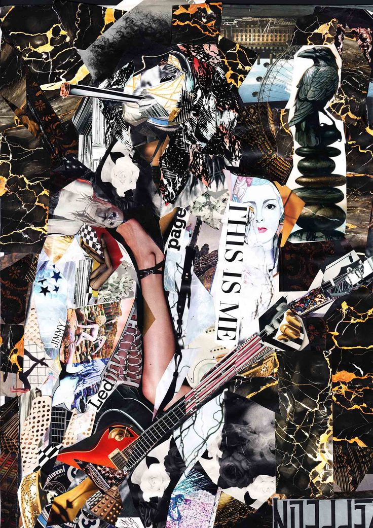 Jimmy Page - Collage   By Glil   Giclee print on fine art paper 300 gsm  Limited Edition of 33 per Size Hand Signed, Numbered & Unframed   Remarks Each print comes with Certificate of Authenticity (COA) and a small Gift from the artist     Read more PRINT SIZE A3 = 42 x 29.7 cm
