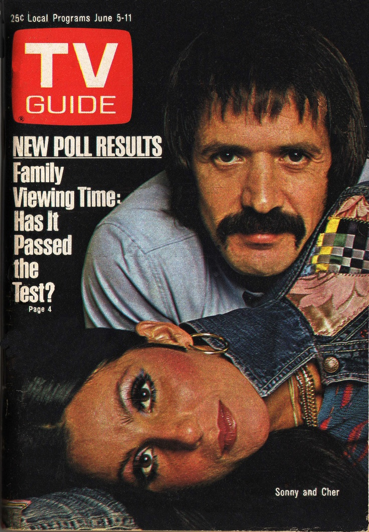 "June 5, 1976. Sonny and Cher of CBS's ""The Sonny and Cher Show."""