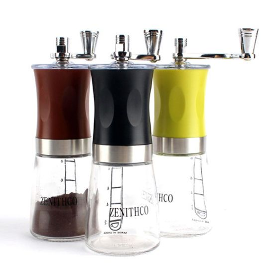 ZENITHCO Ceramic Cofee Grinder MG-731 160ML Mini Hand Portable Handheld Grinder  #ZENITHCO