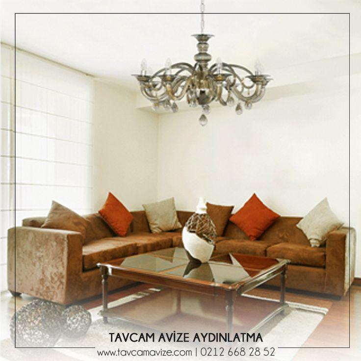 Ayçe Sıcak Füme Lüster; Füme renk tonu ile odanıza büyüleyici bir hava katacak ve modern görünüm sağlayacaktır. 🌟 www.tavcamavize.com #tavcam #aydınlatma #tavcamistanbul #yemekodasıavizesi #yatakodasıavizesi #salonavizesi #avize #dekorasyon #dizayn #homedesign #light