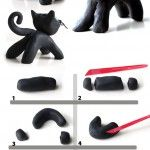 Plasticine BLACK CAT but in modeling clay We could also give them the option to…