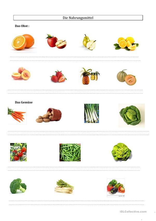 113 best essen und trinken lebensmittel daf arbeitsbl tter images on pinterest healthy. Black Bedroom Furniture Sets. Home Design Ideas