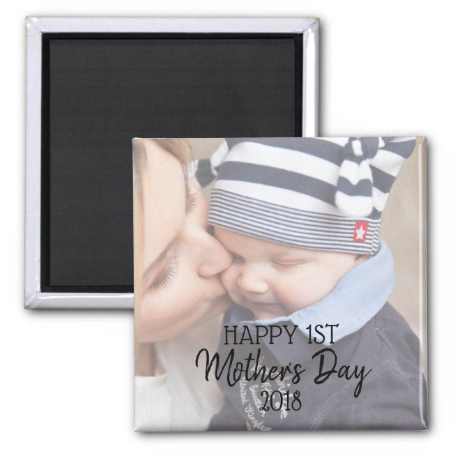 Happy First Mother S Day Magnet Zazzle Com First Mothers Day Mothers Day Happy Mothers Day