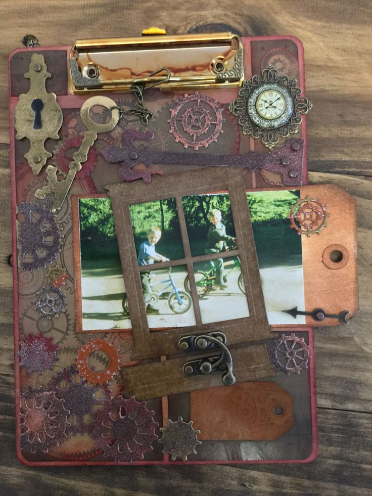 Altered clipboard by Lisa hopman.