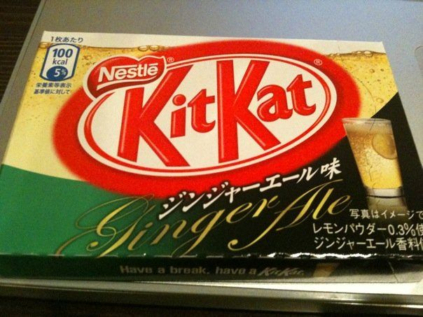 Kit Kat Flavors Spotted Wacky And Strange Kit Kat Flavors Food And Drink