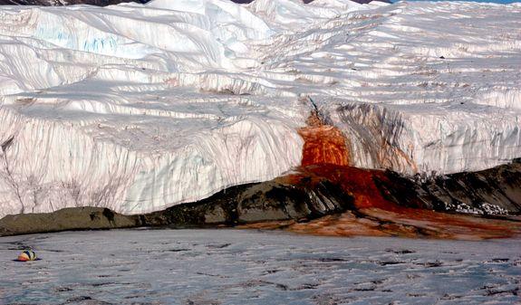 Source of Antarctica's Eerie 'Bleeding Glacier' Found - Yahoo News Singapore