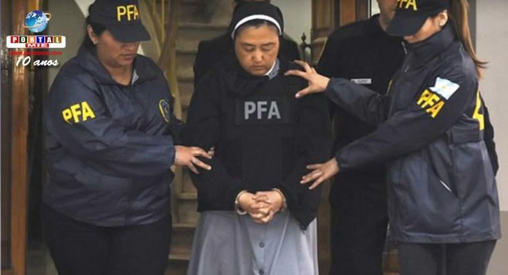 La monja japonesa fue presa por supuesta participación en casos de abuso sexual de menores en Argentina. Una monja de Japón fue presa por sospecha de ayuda