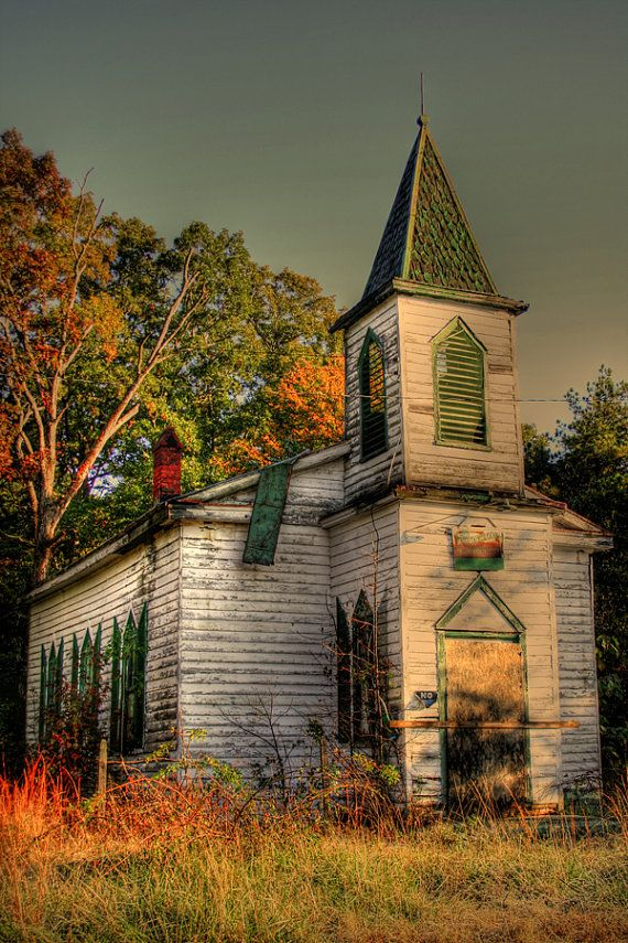 """Abandoned Church"""