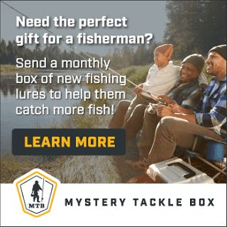 Get $10.00 off your first Mystery Tackle Box with code USFAM10. New fishing products delivered monthly.