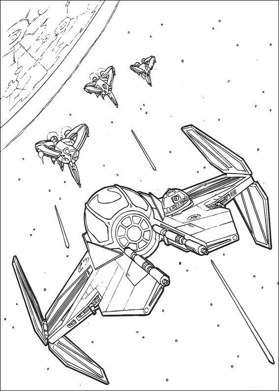 Star Wars Tegninger til Farvelægning 99