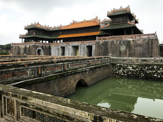 Photo Of Meridian Gate To The Imperial City In Hue Vietnam Construction Was Ordered By Emperor Gia Long Nguyen Anh I Forbidden City Best Sites Beijing China