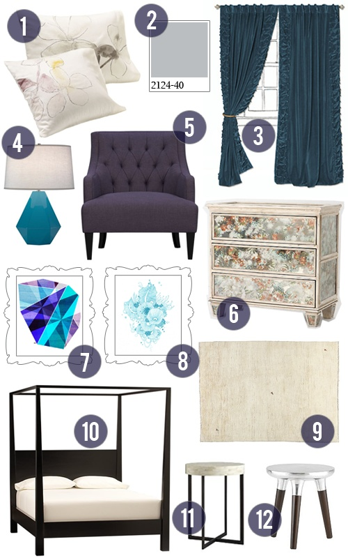 Purple  teal and grey bedroom mood boardBest 25  Teal and grey ideas on Pinterest   Living room brown  . Teal And Gray Bedroom. Home Design Ideas