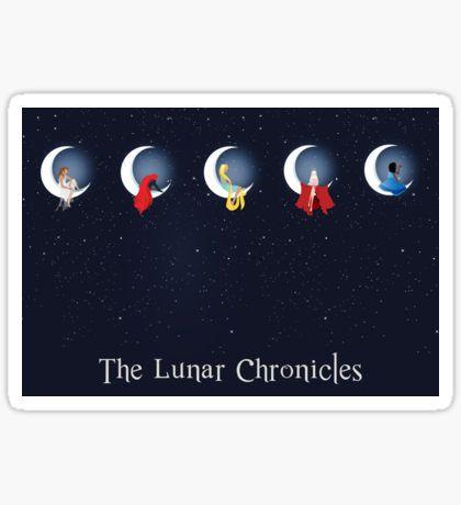 the lunar chronicles Pegatina