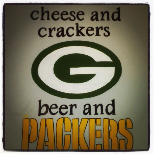 For the true cheese head :)