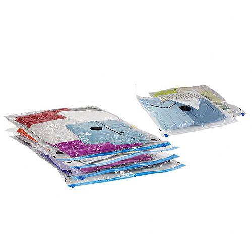 Otimize espaço e livre de roupas empoeiradas e com cheirinho de guardado,usando essas embalagens a vácuo!