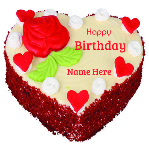 Happy Birthday Special Fruit Cake With Your Name.Write Name on Cake For HBD.Birthday Cake With Name…