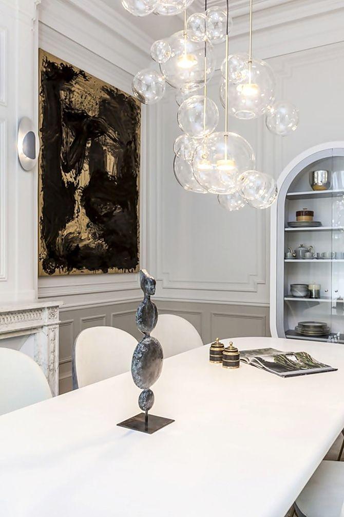 — Apartment Saint Germain des Prés, Paris by Gérard Faivre