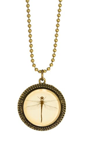 DragonFly Necklace - Joli 2014 collection. www.fabuleuxvous.com
