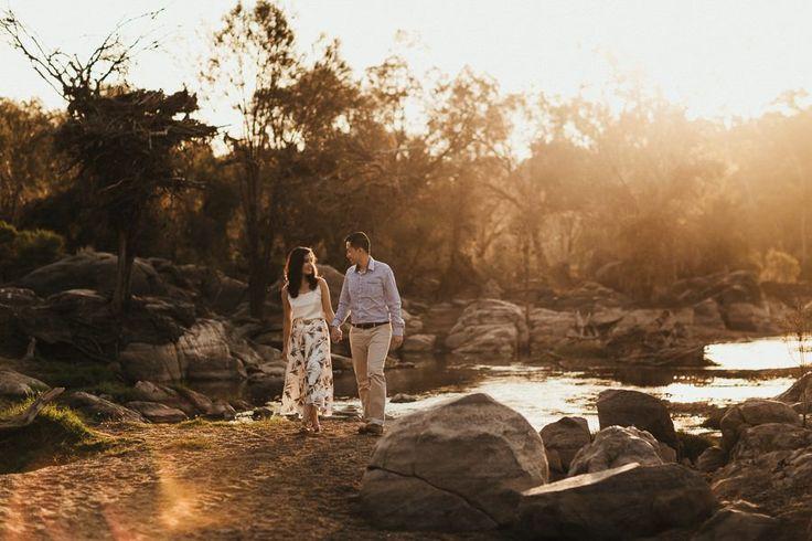 Vu & Man's Bell's Rapids Pre-Wedding Portraits by Capture & Rapture Photography
