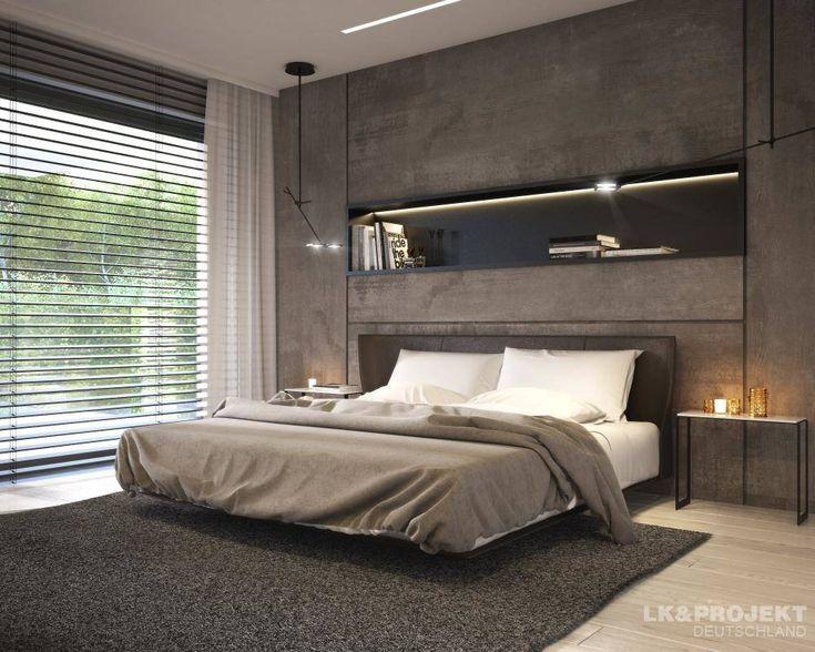Descubra fotos de Quartos Moderno por LK&Projekt GmbH. Encontre em fotos as…