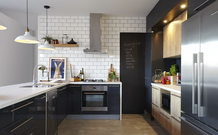 416 best images about kitchens on pinterest kitchen photos home renovation and small kitchens. Black Bedroom Furniture Sets. Home Design Ideas