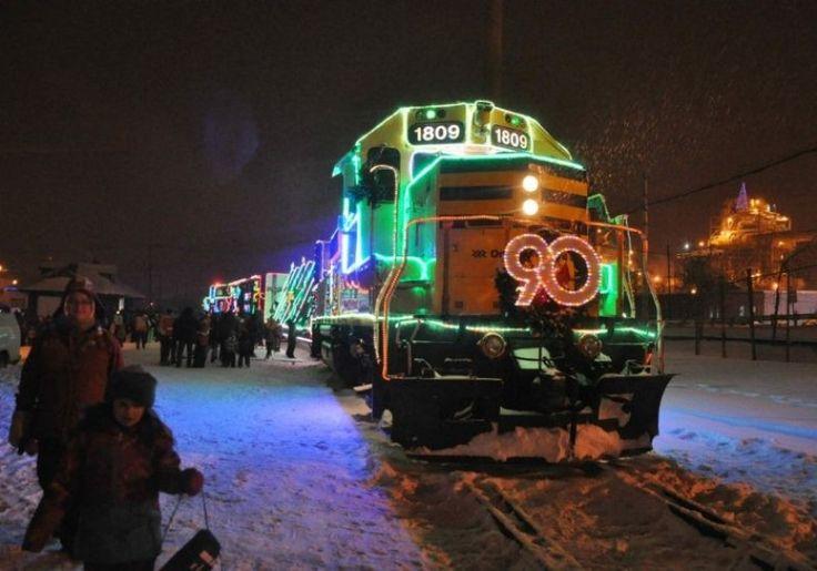 Train de Noël   Quoi faire à Rouyn-Noranda   CLD de Rouyn-Noranda Tourisme