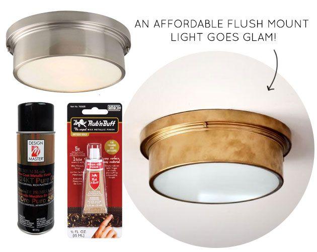 45 Flush Mount Light Fixture via Home Depot Orcondo Pinterest