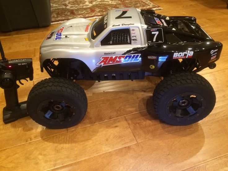 HPI Savage Flux XL Conversion With 5T 1/5 Scale rims & tires w/Many Upgrades in Toys & Hobbies, Radio Control & Control Line, Radio Control Vehicles | eBay