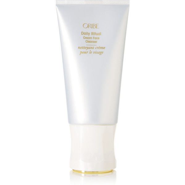 Oribe Daily Ritual Cream Face Cleanser, 125ml featuring polyvore, beauty products, skincare, face care, face cleansers, colorless, hydrating face wash, paraben free face wash, paraben free facial cleanser, moisturizing facial cleanser and paraben free face cleanser
