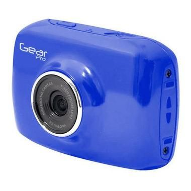 High-Definition Sport Action Camera, 720p Wide-Angle Camcorder With 2.0 Touch Screen SD Card Slot, USB Plug And Mic (Blue color) W290-GDV123BL