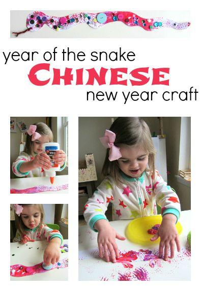 Snake Craft – Chinese New Year