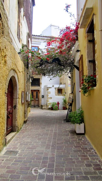 Somewhere in Chania Old Town...