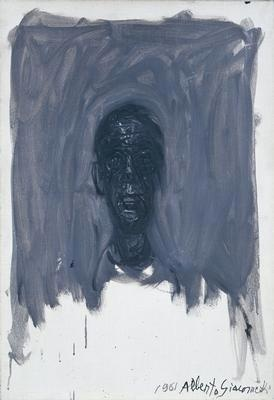 Head of Diego II. - Alberto Giacometti