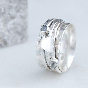 Penelopetom Cherish Sterling Silver Spinning Ring