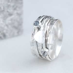 Penelopetom Cherish Sterling Silver Spinning Ring