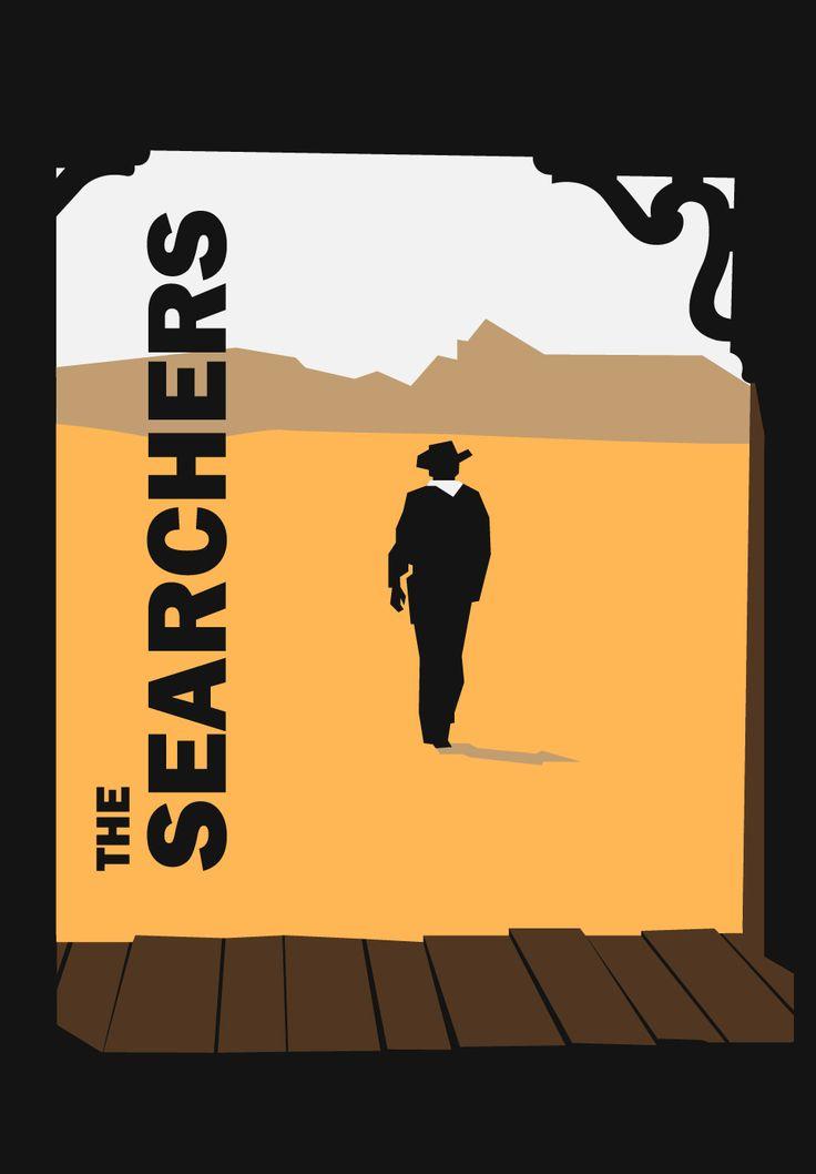 The Searchers (1956) poster. Centauros del desierto.