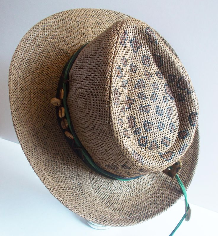 Make a scene! Summer look stylish and trendy just for you by mademeathens. #summerlook #hats #bags #accessories #tiger #summer